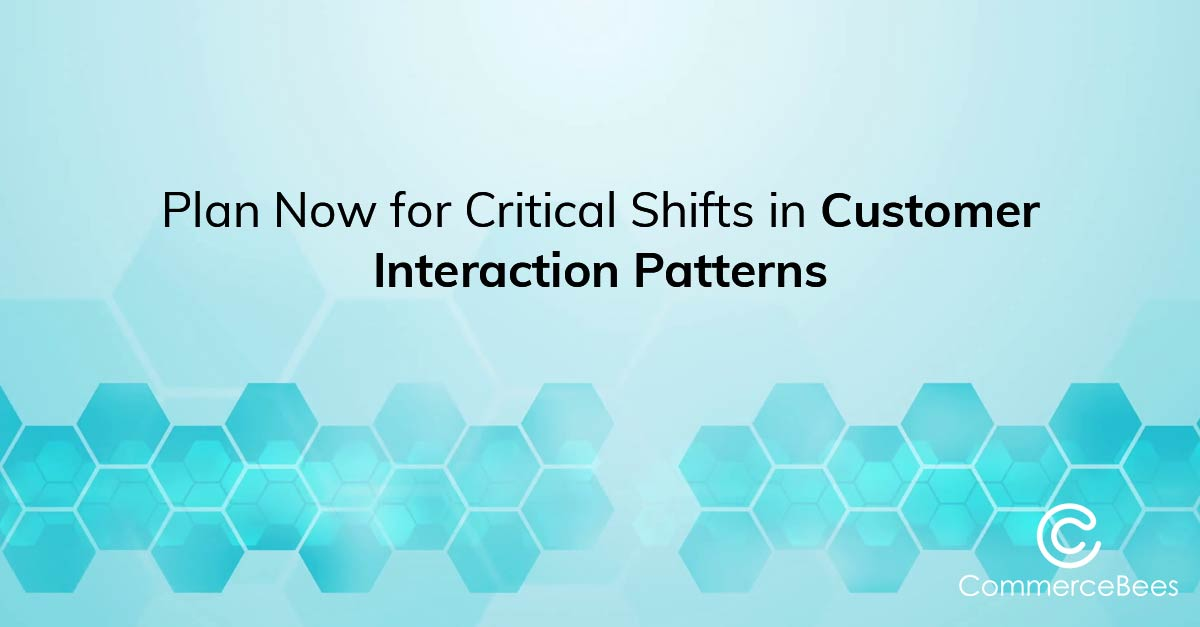 Customer Interaction patterns E-commerce