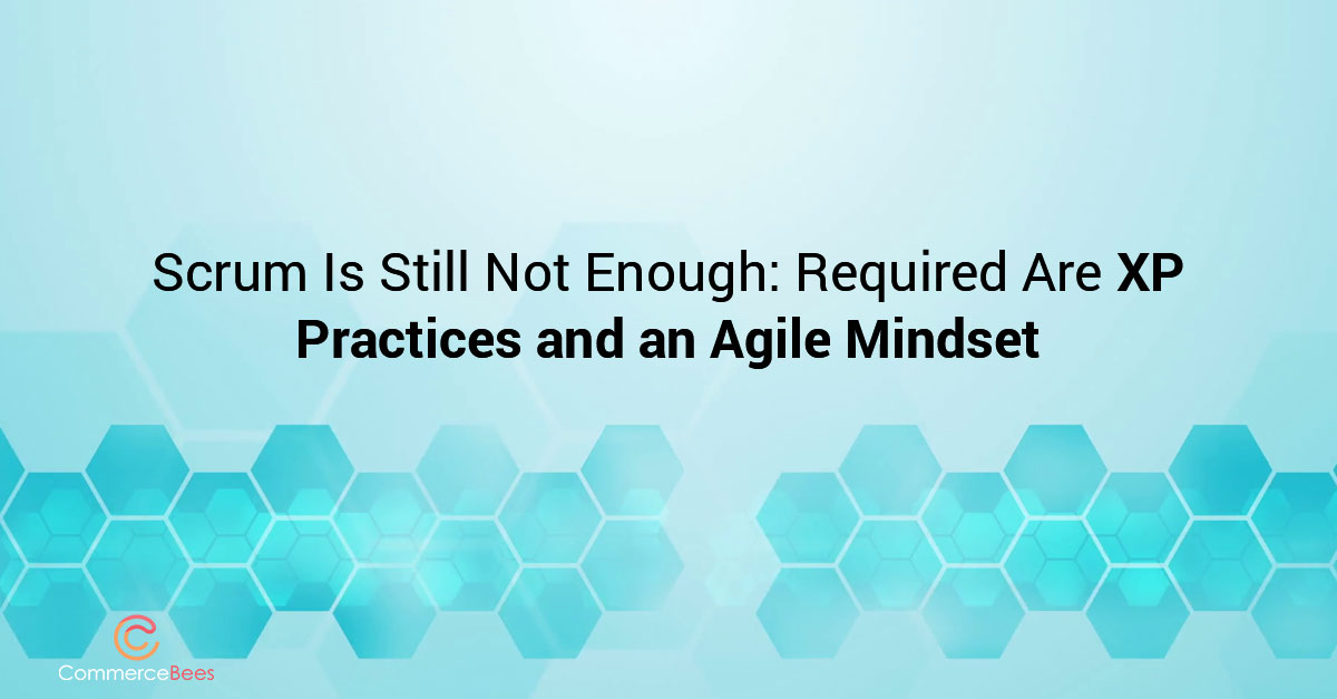 Scrum and Agile practices. Commercebees